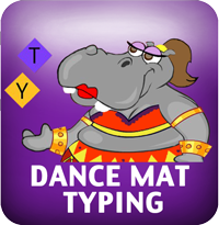 Decorative icon for Dance Mat Typing